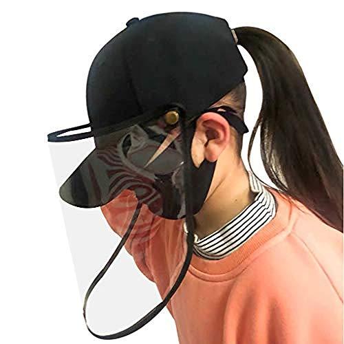 5PCS Protective Visier Face Shield Gummiband Transparente Abdeckung Anti-Spritzer-Vollgesichtsabdeckung für die Kochreinigung
