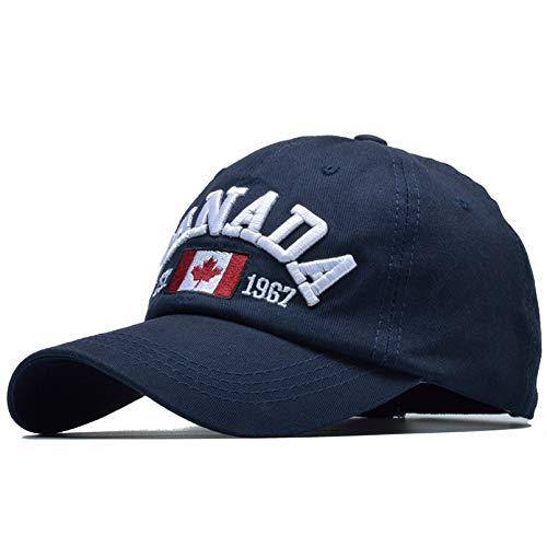 YIERJIU Baseball Cap Baseball Kappe Mütze Cap Neue Kanada Stickerei Baseball-Cap Frauen Sommer Hüte Caps Herren Hysterese Brief Trucker Cap,Ma