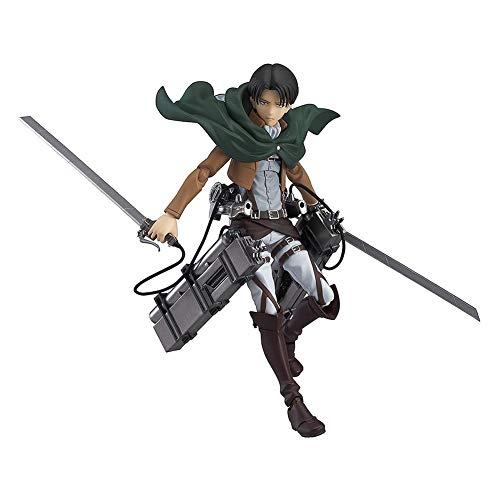 Deliya Attack on Titan: Levi Figma Action Figure Fans Und Sammler