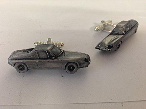 Lotus Europa Serie 3 3D-Manschettenknöpfe Zinn-Manschettenknöpfe Oldtimer ref118