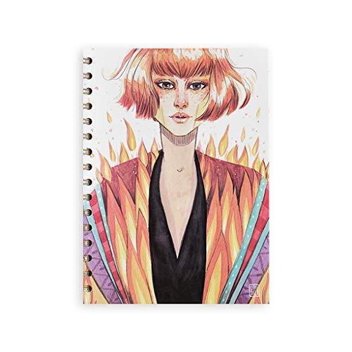 Cuquiland | Cuaderno Esther Gili Anillas Fuego
