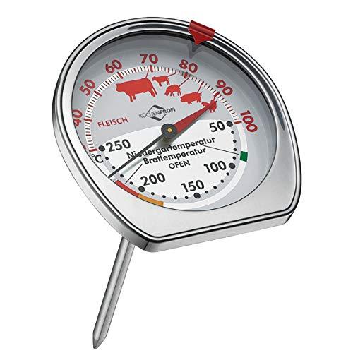 Küchenprofi BBQ Braten-/ Ofenthermometer, Kombi-Thermometer Ofen/Gartemperatur gleichzeitig