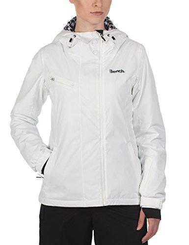 Bench Damen Funktionsjacke Issential, bright white, XL, BLKF0079