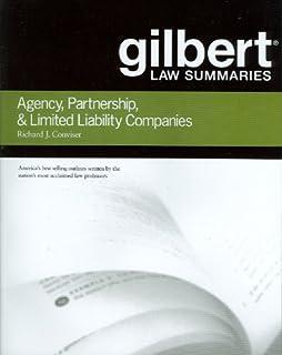 Gilbert Law Summaries on Agency, Partnership and LLCs