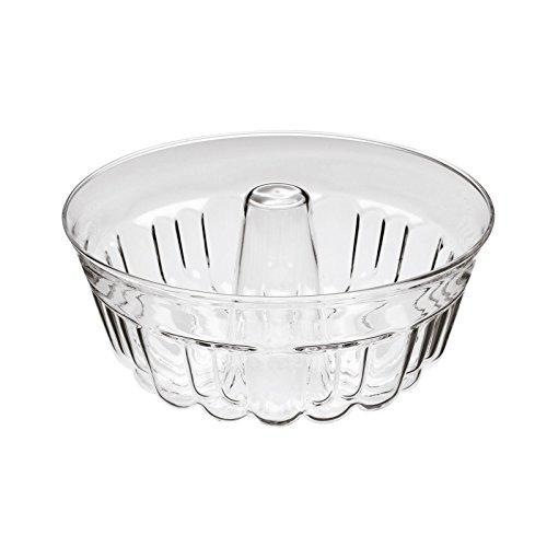 Gugelhupfform Napfkuchenform runde Backform aus Glas 1 Liter Ø 25 cm äußerst hitzebeständig und robust