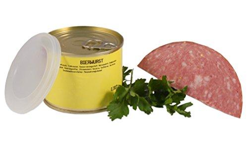 Bayerische Bierwurst in der Dose ★ Landmetzger Schiessl ★ ca. 400g