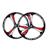 Altruism Cerchi MTB Cerchio 3 Razze Cerchi in Lega di Magnesio da 26' Pollici Cerchi Bici da Mountain Bike Cerchi da Mountain Bike