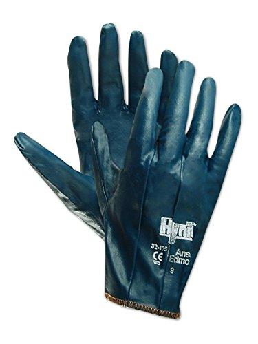 Ansell Hynit 32-125 - Guanti in nitrile blu