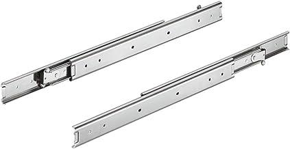 Gedotec ACCURIDE 3630 Telescopische rail aan beide zijden uittrekbaar laderails, volledig uittrekbaar, 700 mm, draagkracht...