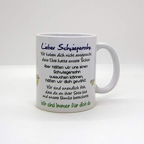 Kaffeebecher ~ Tasse -Lieber Schwiegersohn -wir~ Weihnachten Geschenk