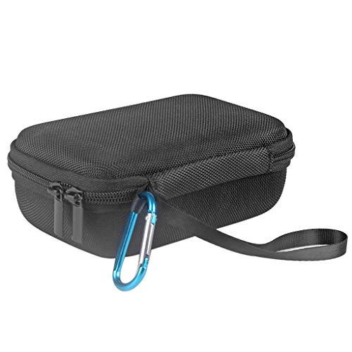 luosh Estuche rígido con Cremallera EVA portátil Estuche rígido Estuche con Altavoz Bluetooth