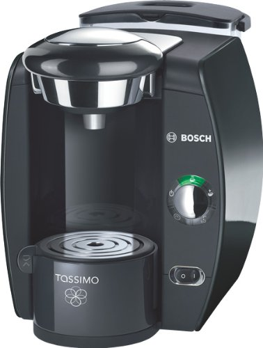 Bosch TAS4212 Tassimo T42 Fidelia Multi-Getränke-Automat, Magic Black