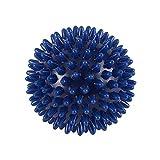 Bola de massagem em PVC de alta densidade para alívio da fascite plantar e dor nos pés, tratamento para porco-espinha de massagem, bola de acupressão, Moderno, 6cm, Azul