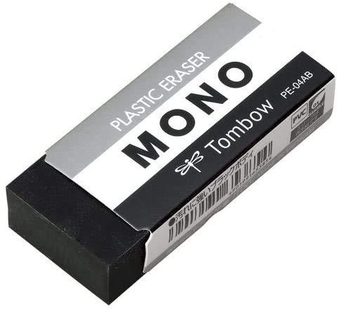 トンボ鉛筆 消しゴムモノPE04ブラック PE-04AB 【× 7 セット 】