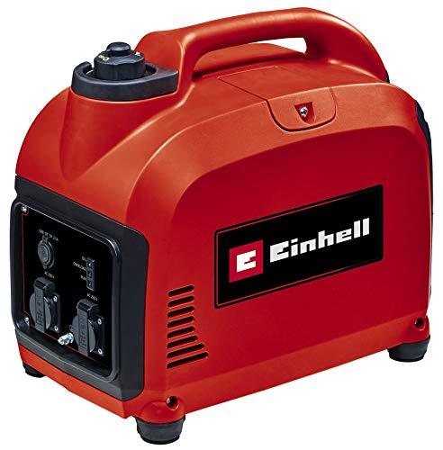 Einhell Stromerzeuger (Benzin) TC-IG 2000 (1800 W Dauerleistung, Inverter-Technologie, 105.6 cm³ Hubraum, 4 L Benzin-Tank, 4-Takt-Antriebsmotor, 2x 230 V-Steckdose/50 Hz, 2x USB-Anschluss)