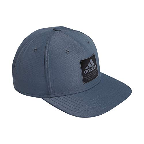 adidas Affiliate High Crown Structured Snapback Cap,Legacy Blue/ Black/ Onix,ONE SIZE