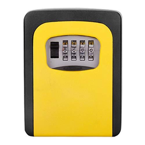 ZHAO- Key Lock Box, [wasserdichte Version] [Wand Befestigten] Kombination Key Safe Storage, Schlüsselkästen Kombinationsschloss, Schlüsselkasten Zahlenschloss (Color : B)