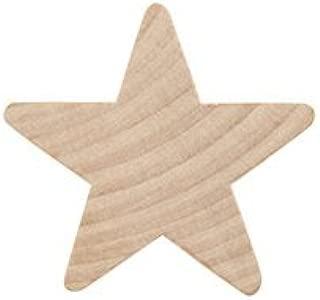 Wooden Star 5/8