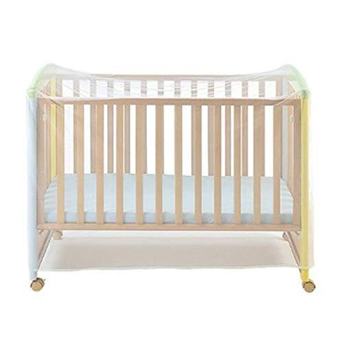 LeftSuper Klamboe Anti-muggen Polyester Stof Licht Ademend Decoratief Wieg Klamboe Baby Klamboe Cover