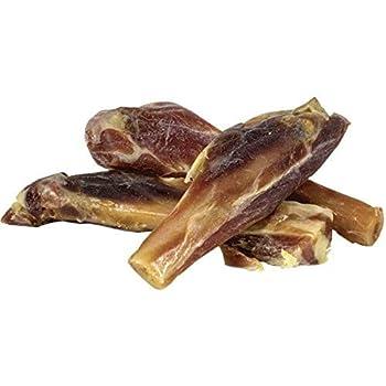PET FOOD Mini Côtelettes de Jambon Serrano X3 sous Vide Friandises/Os 10 cm 70 g