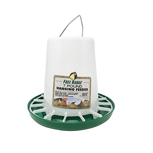 Harris Farms Hanging Poultry Feeder 7 Pound