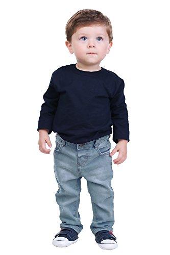 Pulla Bulla Baby Boy Premium Jeans Denim Pants 9-12 Months Medium Washed