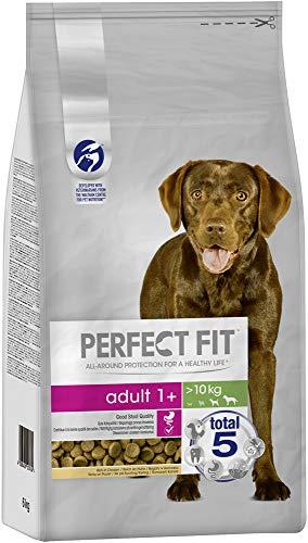 Perfect Fit Hundefutter Trockenfutter Adult für mittelgroße und große Hunde (M/L) mit Huhn, 6 kg