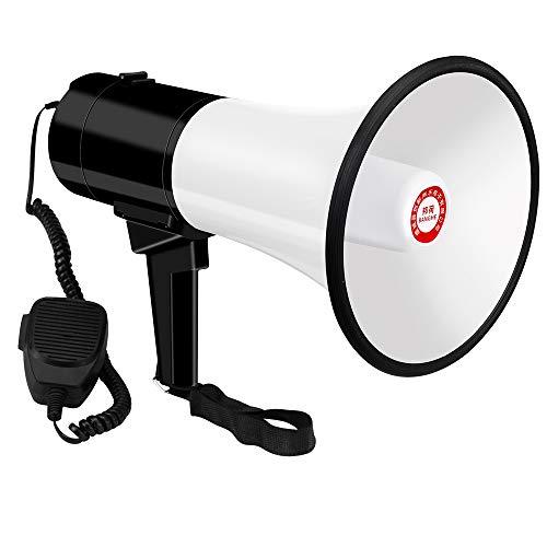 CIFY Shouting Megaphone, Long Transmission Distance Super Loud Megaphones,...