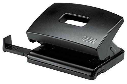 Novus C 216 Bürolocher (Kunststoff mit Funktionsteilen aus Metall) für 16 Blatt schwarz