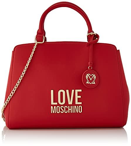 Love Moschino, Borsa a Spalla da Donna, Pre Collezione Autunno Inverno 2021, Rosso, U