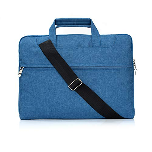 15 Inch Laptop Sleeve Case, Portable Laptop Shoulder Bag Compatible with 15 inch MacBook Pro Touch Bar A1990 A1707, 14 HP Acer Chromebook, 2019 Surface Laptop 3 15