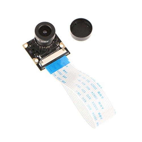 IPOTCH Placa de Cámara de 135 ° con de 5MP 1080P Gran Angular para Raspberry Pi