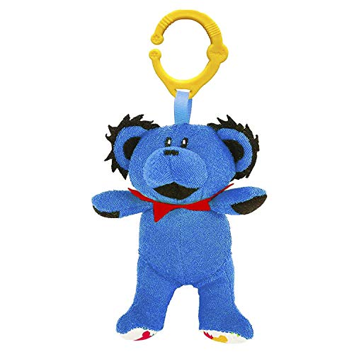 Grateful Dead Interactive Plush Dancing Bear by Daphyl's with Universal Hanging Clip