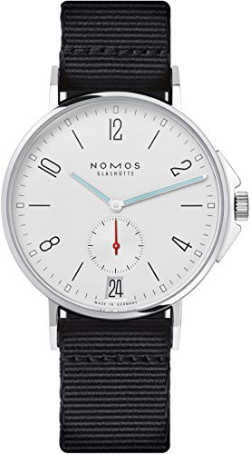 Nomos AHOI Datum Automatic White Dial Stainless Steel Men's Watch 551
