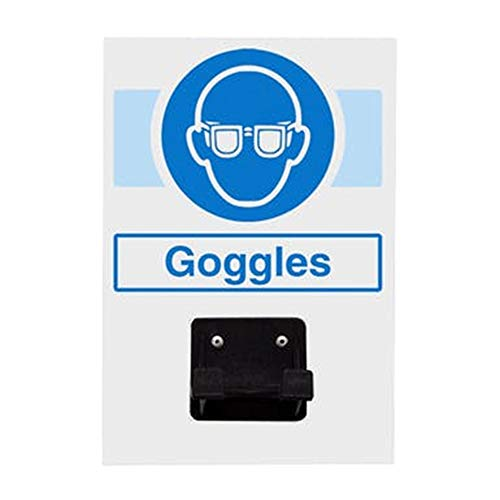 Vsafety Ppe Station - Goggles - 1 Holder - 220mm x 150mm - Single