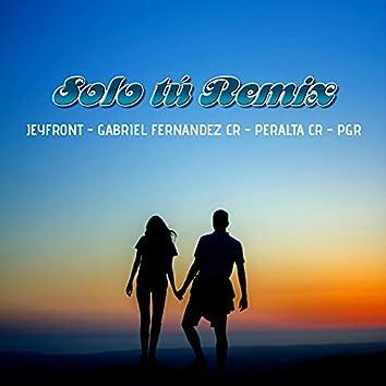 Solo Tú (Remix)