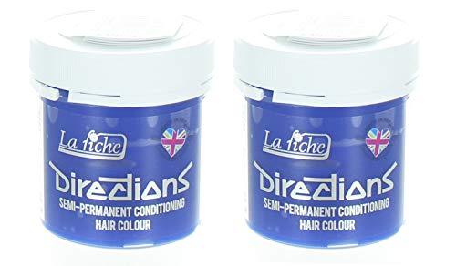 La Riche Directions semipermanente Haarfarbe Tönung 2er-Packung - Pastellblau