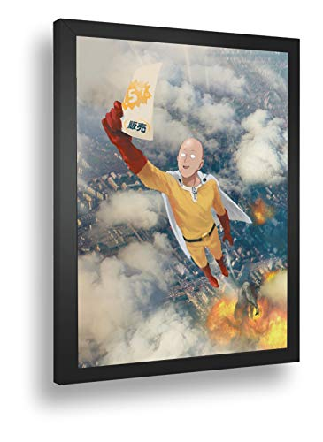 Quadro Decorativo Poster Anime Saitama One Punch Man 02