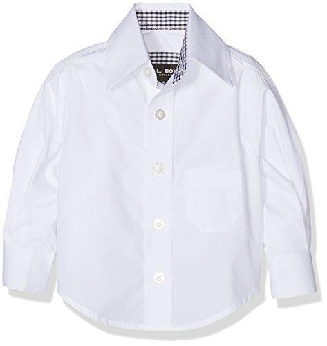 G.O.L. G.O.L. Baby-Jungen Kentkragen, Regularfit Hemden, Weiß (weiß 6), 74