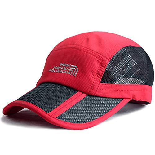 Gorra de béisbol Snapback Cap Bone Brand Sun Hat Snapback Caps Sombreros para Hombres Mujeres Carta Hip Hop Gorras Casquette Chapeu Winered
