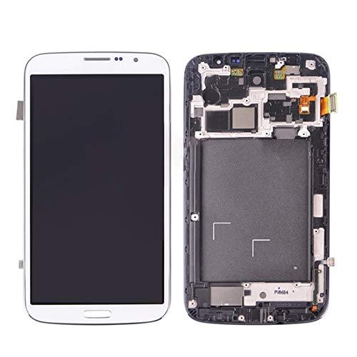 Digital IPartsBuy LCD Display + Screen-Analog-Digital wandler mit Rahmen Ersatz for Samsung Galaxy Mega 6.3 / i9200 / i9205 Zubehör Can Ersatz (Color : White)