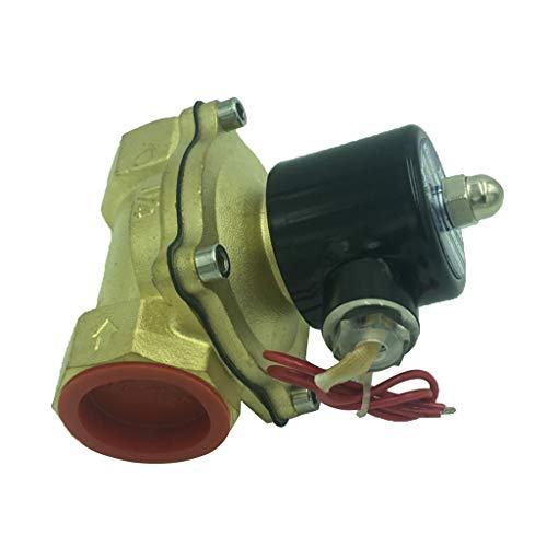 F Fityle Elektrisches Wasserventil Gasventil Magnetventil Elektroventil für Metallurgie Chemie Textil Drucken Instrumentierung Medizin usw. - DC24V