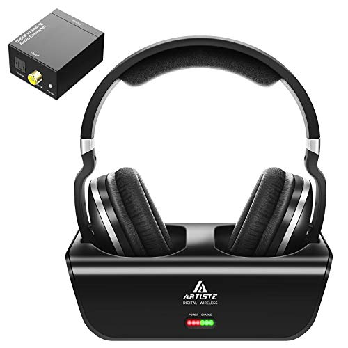 Wireless Headphones for TV Watching with Optical, ARTISTE ADH300...