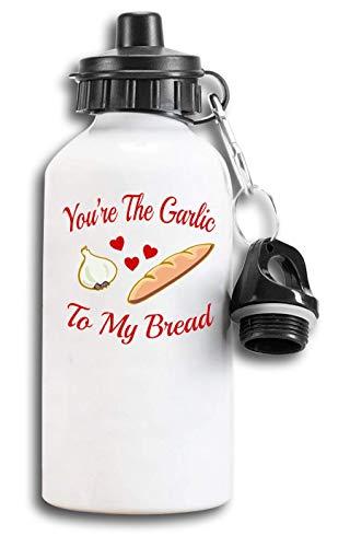 Iprints Je bent Knoflook Aan Mijn Brood Koppels Grafische Toeristische Water Fles