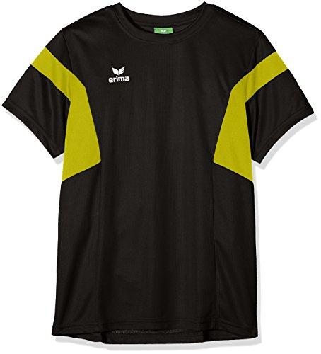 Erima Kinder Classic Team T-Shirt, schwarz/Gelb, 128