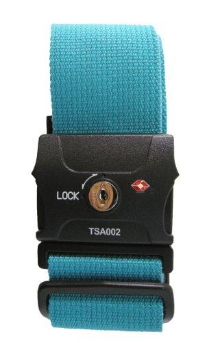 JTB商事 TSAロック付 スーツケースベルト スワンブルー 509009021