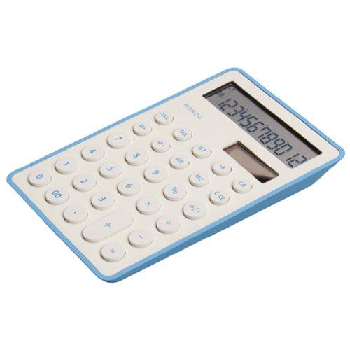 モトデザイン MONDO 電卓(ホワイト) DS01-WH