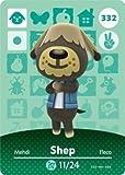 Shep- Nintendo Animal Crossing Happy Home Designer Series 4 Amiibo Card -332