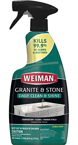 Weiman Disinfectant Granite Daily Clean & Shine