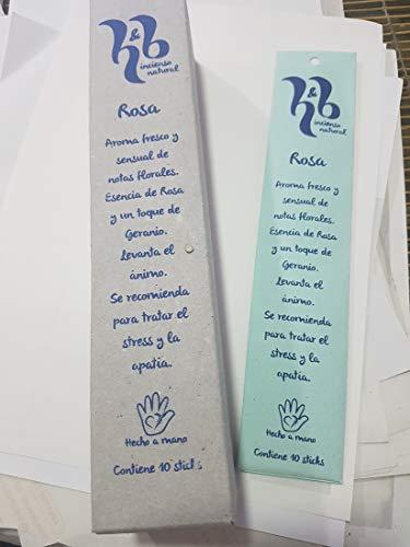 Incienso Natural H&B Rosa 15g